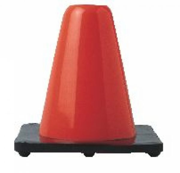 6 Soft Vinyl Hockey Cone