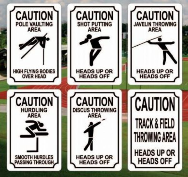 Event Caution Signs
