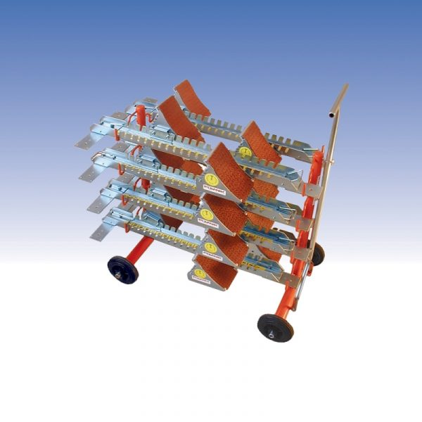 POLANIK Starting Blocks Cart with wheels