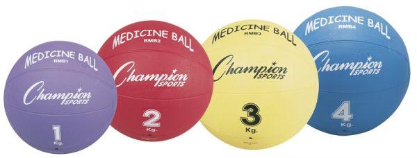 Champion Rubber Medicine Balls
