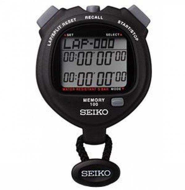 SEIKO 100 Lap Memory Stopwatch
