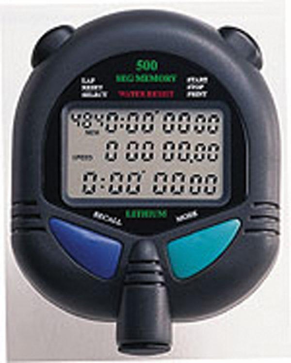 ULTRAK 499 Stopwatch - 2000 Lap Memory